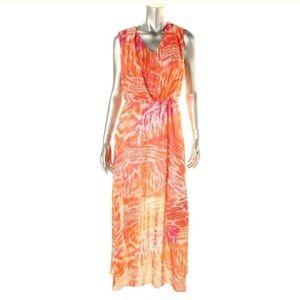 Calvin Klein Womens Sleeveless Maxi Dress 6